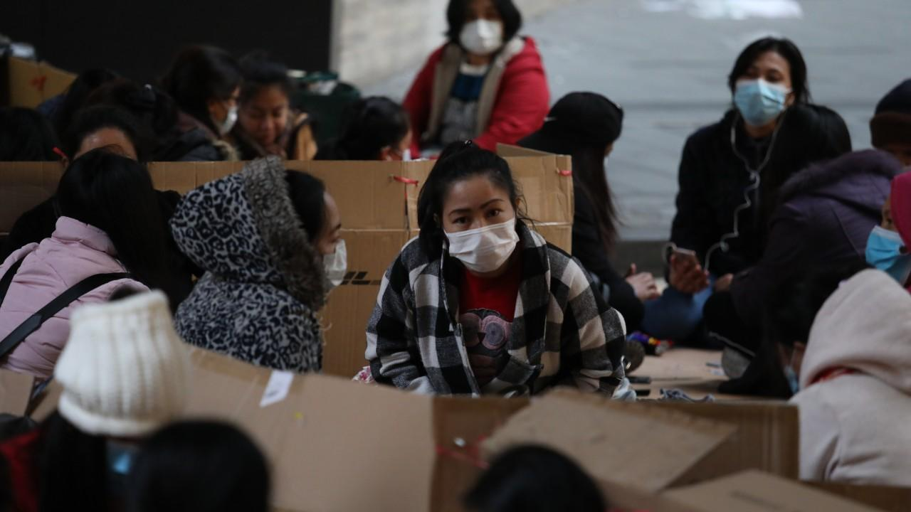 Coronavirus Hong Kong Families Await Return Of Thousands Of Stranded Domestic Helpers As The Philippines Lifts Travel Ban