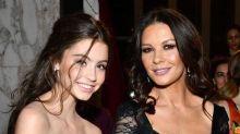 Catherine Zeta Jones' daughter is her mirror image
