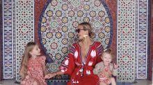 每日IG:倫敦最時尚的全職媽媽,Hannah Taylor的最強母女裝出動!