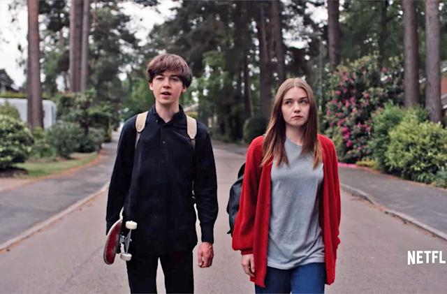 Netflix's take on 'The End of the F**king World' debuts January 5th