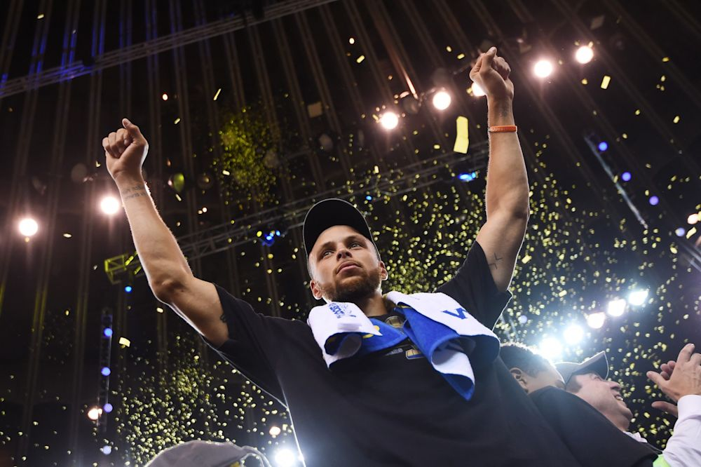 Stephen Curry is one of nine NBA players ever to win multiple MVPs and multiple titles. (Getty Images)
