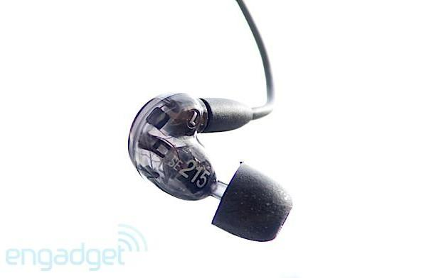 Shure SE215 earphones review