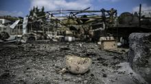 Rubble, glass and blood stains: aftermath of Karabakh hospital bombing
