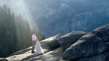 Woman searches for couple she captured in romantic engagement photo: 'Someone find them.'