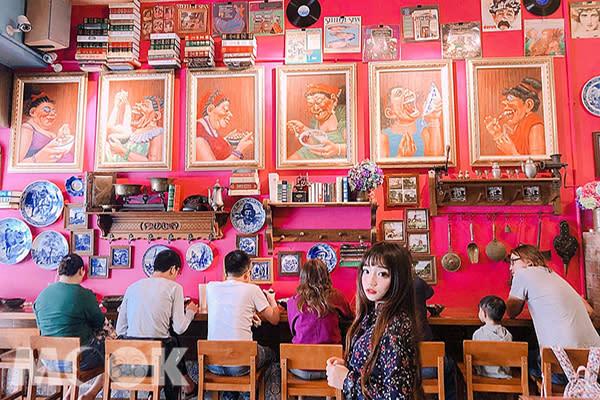 川姥姥巴黎小麵館充滿歐洲風情 (圖片提供/0829ee)