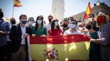 La historia del boicot a Ciudadanos para no entrar en la plaza de Colón