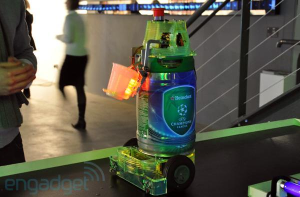 Heineken Bot does what it says on the keg, soon to be man's new best friend (update: new video)