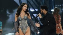 Awkward! Bella Hadid struts past her ex, The Weeknd, at Victoria's Secret Fashion Show