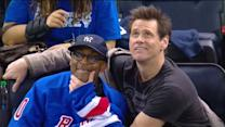 Spike Lee and Jim Carrey clown around at MSG
