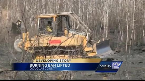 Damage being assessed in Douglas County after wildfire