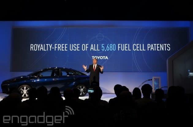 Toyota shares its fuel cell patents to help its hydrogen dreams come true