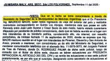"""Un documento contradice la teoría del """"fake allanamiento"""" del que Cristina Kirchner acusó a Mauricio Macri"""