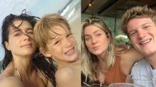 Letícia Spiller relembra infância de Pedro Novaes: 'O tempo passa rápido'