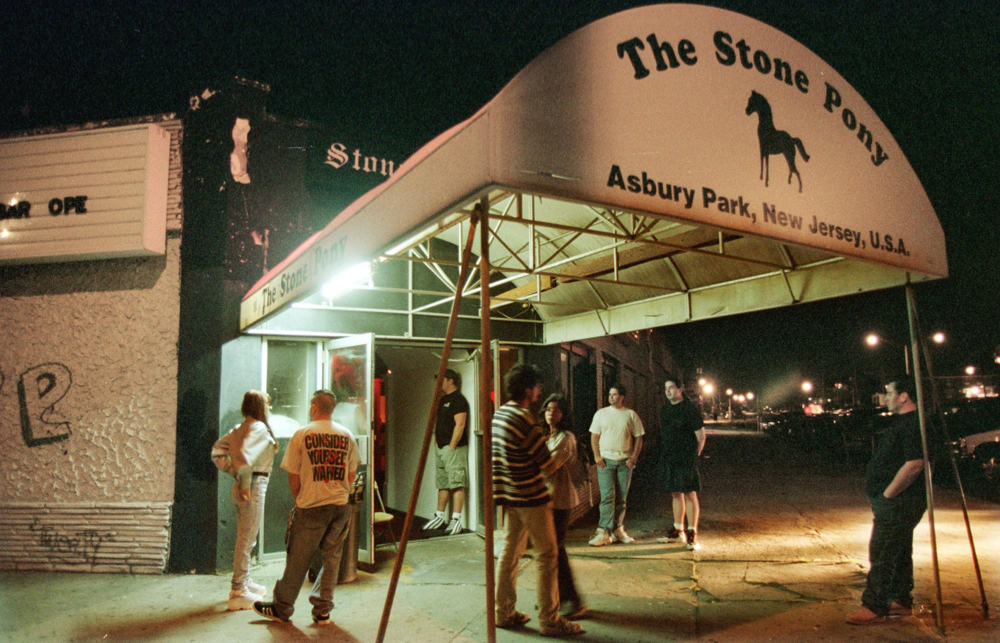 <strong>The Stone Pony - Asbury Park, NJ</strong><br><br>Replacing popular restaurant Mrs. Jay's in Asbury Park, New Jersey, The Stone Pony opened its doors on February 8, 1974. The venue is one of the famous launching pads for Bruce Springsteen and the E Street Band, along with a host of other Jersey musical luminaries.<br><br>(AP Photo/Mike Derer, FILE)
