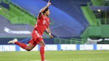 Foot - C1 - Ligue des champions: le réalisme de Serge Gnabry (Bayern Munich) face à l'Olympique Lyonnais