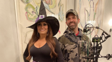 Donald Trump Jr. and Kimberly Guilfoyle dress as a 'witch hunt' for Halloween: 'Couldn't resist'