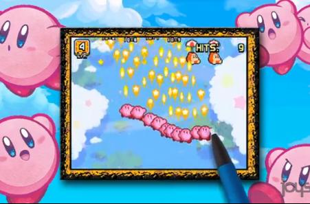Kirby: Mass Attack minigames feature minis, games