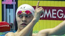 Business as usual for swim star Sun Yang