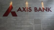 Axis Bank recovers sharply from 3% lows post Q4 show; up over 5%