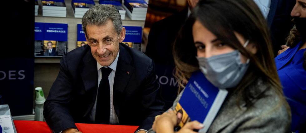 «J'ai toujours répondu aux convocations», assure Nicolas Sarkozy à Lyon