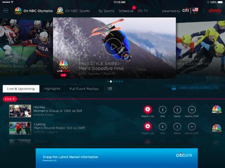 Five apps to help you follow the 2014 Winter Olympics in Sochi
