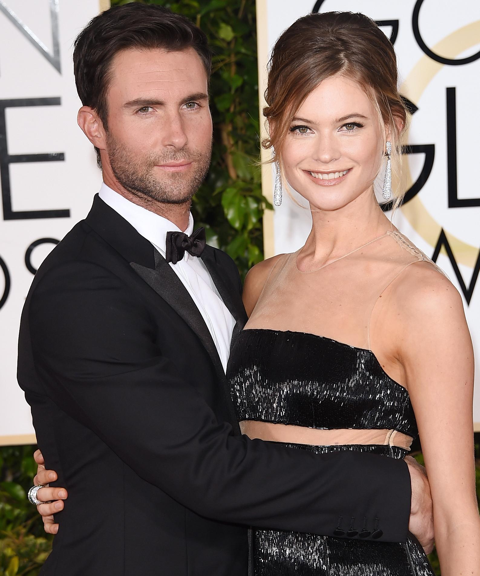See The First Photo Of Adam Levine And Behati Prinsloos Baby Girl