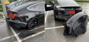 特斯拉承認設計瑕疵:Model 3 後保桿脫落非個案,保固內免費維修