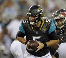 Blake Bortles put on alert, Jaguars coach says starting QB job is up for grabs