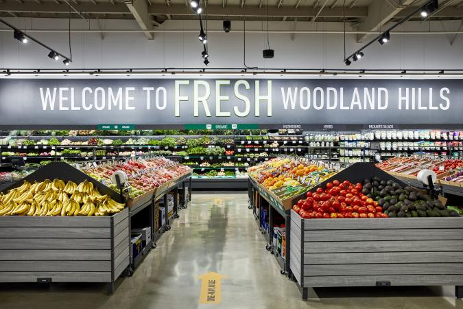 Amazon opens its first Fresh grocery store in Los Angeles