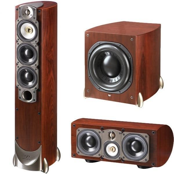 Paradigm's Studio 60 v.5 5.1-channel speaker system gets a big thumbs up