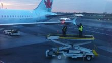 Air Canada jet damaged while on LaGuardia taxiway by another jet