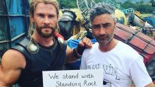 Chris Hemsworth Joins List of Celebrities Protesting Dakota Access Pipeline