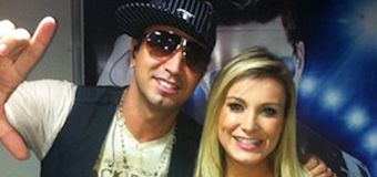 Latino elogia Urach, sua ex-dançarina: 'determinada'