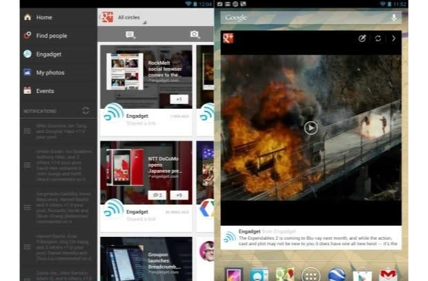 Google+ app updates bring iPhone 5 support, new widget on Android and more