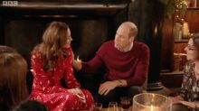 People Think Kate Middleton Shrugged Off Prince William's Hand In Awkward TV Moment
