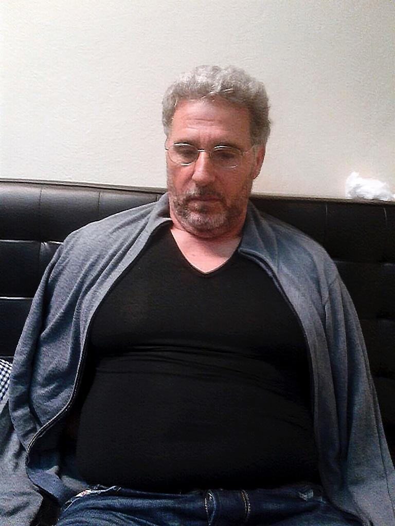 A handout file photo released by Italian police on September 4, 2017 showing Italian Rocco Morabito after he was arrested after more than 20 years on the run for drug trafficking and mafia activities (AFP Photo/Handout)