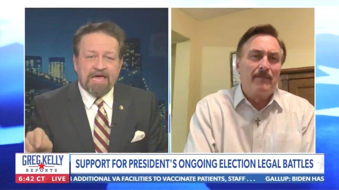 Sebastian Gorka Cuts Off Mypillow Guy For Spouting Voting Machine Conspiracy On Newsmax