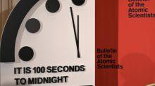 Relógio do apocalipse mais perto do que nunca da meia-noite