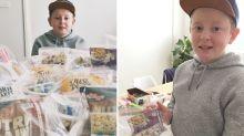 Sydney boy's kind pocket money gesture amid pandemic goes viral