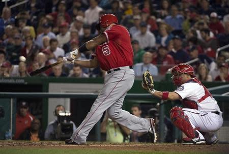 MLB: Los Angeles Angels at Washington Nationals