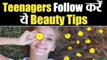 Beauty Tips for Teenage Girls