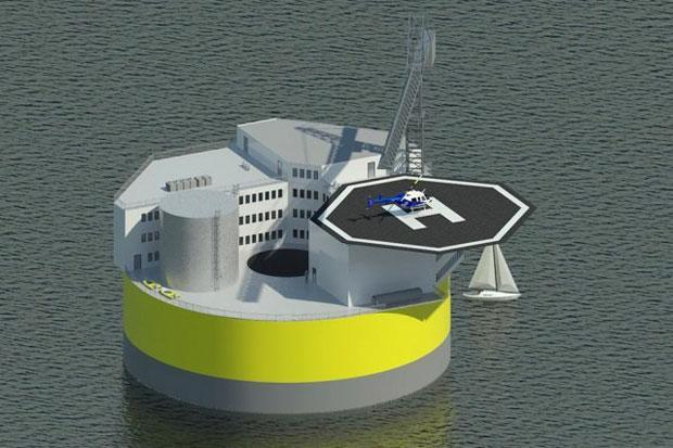 MIT designs a floating, tsunami-proof nuclear plant