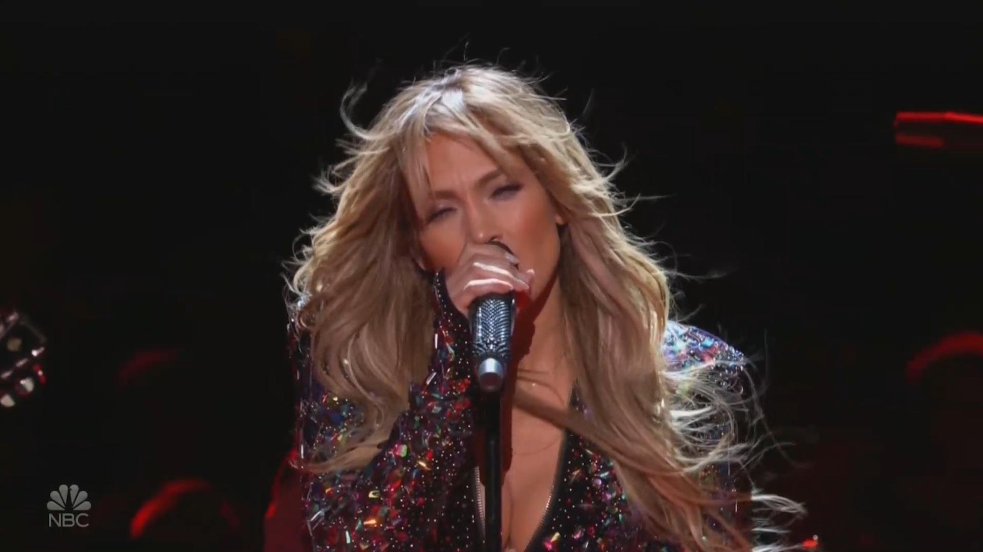 11301d907b69 Jennifer Lopez rocks Elvis tribute just a week after Motown backlash  Video