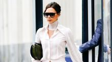 Victoria Beckham Just Wore a Warmer Alternative to Skinny Jeans at the Airport