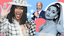 Celebrity endorsements for 2020 election: Ariana Grande, Mike Tyson, Cardi B and more