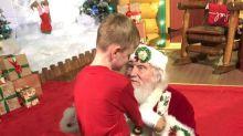 'Best Santa ever!': Autistic boy's Santa visit will warm your heart