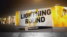 Cramer's lightning round: Waving the red flag on Vodafone...