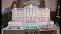 Lego fans build model of Grand Budapest Hotel