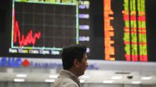 World shares decline again as trade anxiety continues