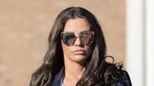 Katie Price says she is registered as disabled after holiday fall